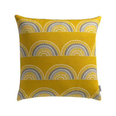 Horseshoe Arch (Yellow) Cushion Cushion + Pad