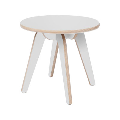 Hue Side Table White Formica