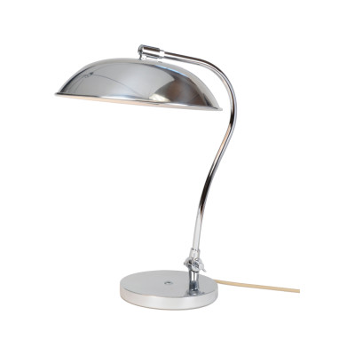 Hugo Table Lamp Polished Aluminium