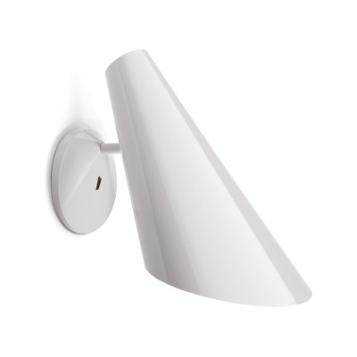 I.Cono 0720 Wall Light Matt White Lacquer