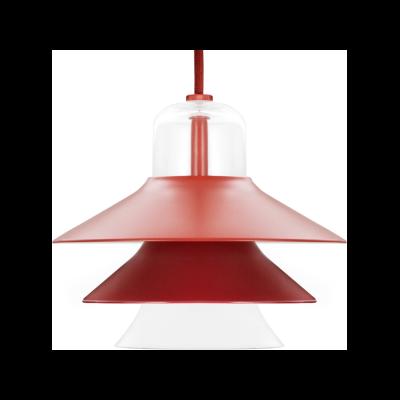 Ikono Small Pendant Light Red