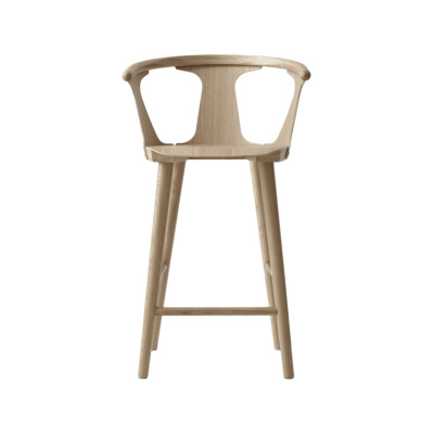 In Between SK7 Counter Stool White oiled oak