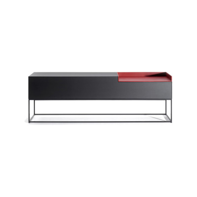 Inmotion Sideboard, Frame Stand Black Ash, Naturale_nero