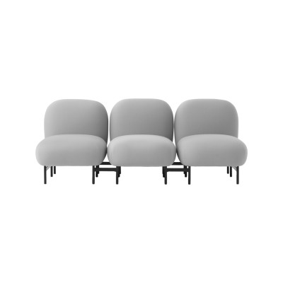 Isole Modular Seating System - 3 Seater Sofa Uniform Grass
