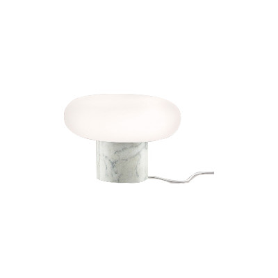 Itka Base Table Lamp Carrara Marble