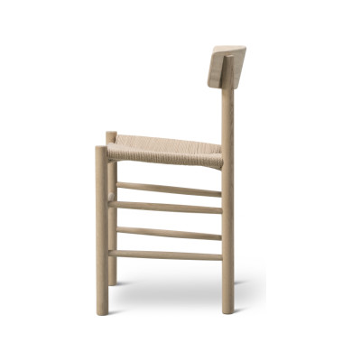 J39 - The People's Chair Beech Soap Treated, Natural paper cord