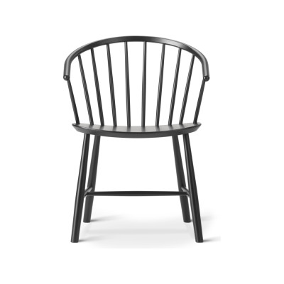 J64 Chair Black Ash
