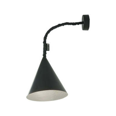Jazz A Wall Light Black, Silver