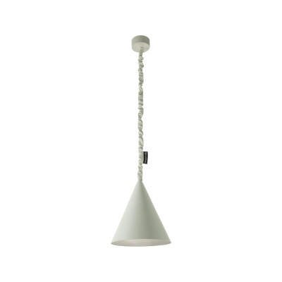 Jazz Pendant Light Grey, Silver