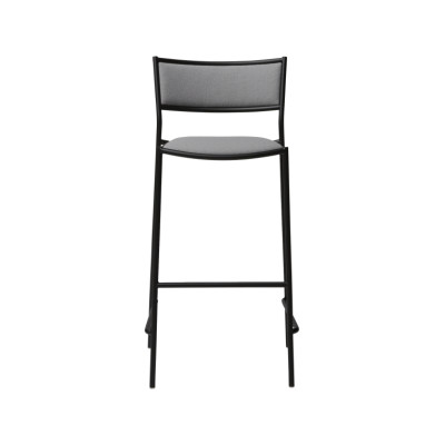 Jig Bar Stool White - RAL 9003, 57004-0000 Lido-Indigo, 65cm