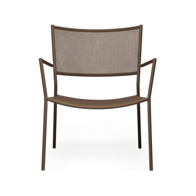 Jig Mesh Easy Chair Pale Brown - RAL 8025