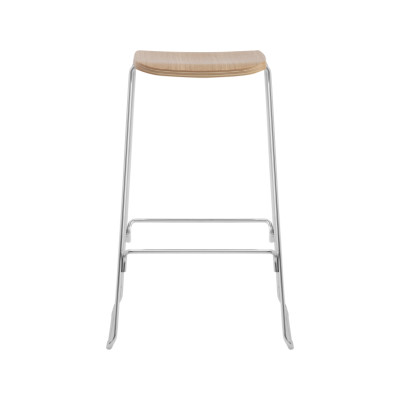 Just Barstool Oak, 65cm, Without backrest
