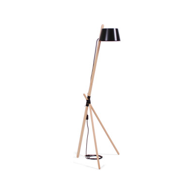 Ka M - Floor Lamp Black
