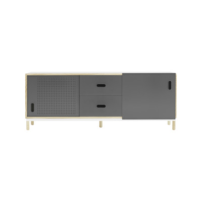 Kabino Sideboard with Drawers Grey
