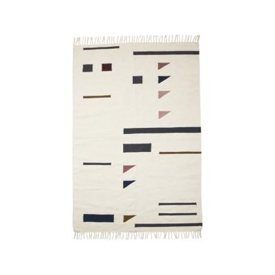 Kelim Rug, Colour Triangles - Large