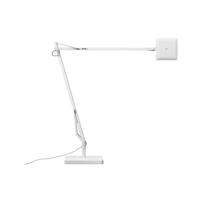 Kelvin Edge Table Lamp White