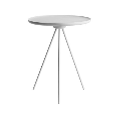 Key Side Table White ash / White