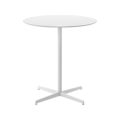 Kobe Dining Table - Round B22 Bungee Brown, B42 Graphite, 60cm