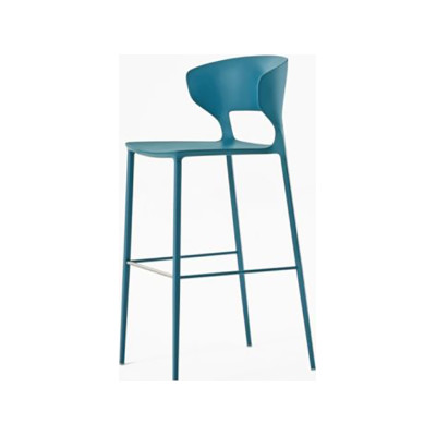 Koki Barstool Matt Colour Lampone red F75, 113cm, Yes