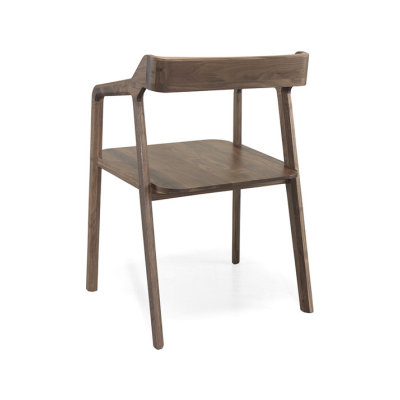 Kundera Armchair Walnut Natural