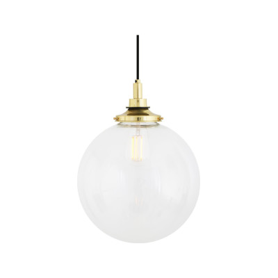 Laguna 30 cm Pendant Light Natural Brass