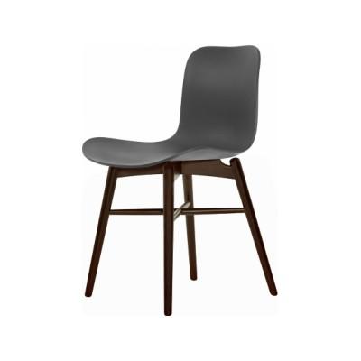 Langue Original Dining Chair, Dark Stained Anthracite Black