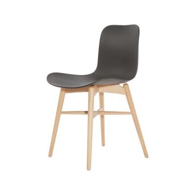 Langue Original Dining Chair, Natural Anthracite Black