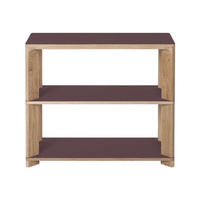 Lastra Console Table Burgundy