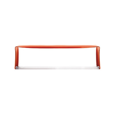 Le Banc Bench Gloss Red, 220cm