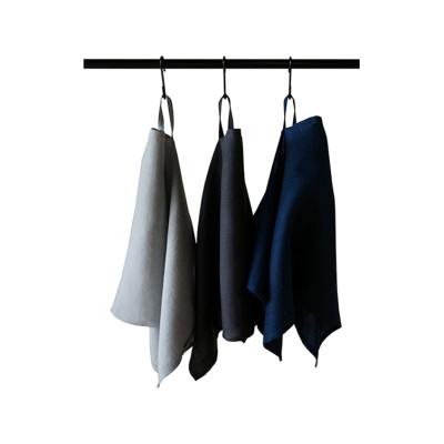 Linen kitchen towels Set Blue