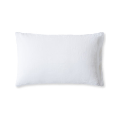 Linen Pillowcase Classic White, Housewife