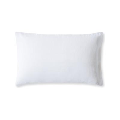Linen Pillowcase Classic White, Housewife