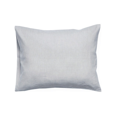 Dove grey linen pillowcase 2 pillowcases 50x75cm