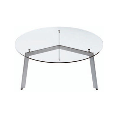 Link Dining Table - Round B83 Champagne, 180cm