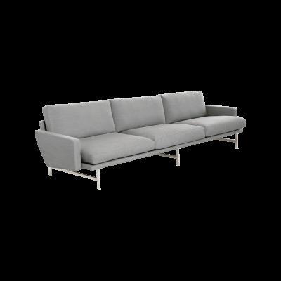 Lissoni 3-Seater Sofa Fame Hybrid 01101