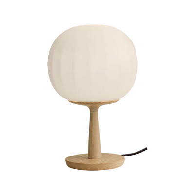 Lita Table Lamp Small, Matt White Aluminium