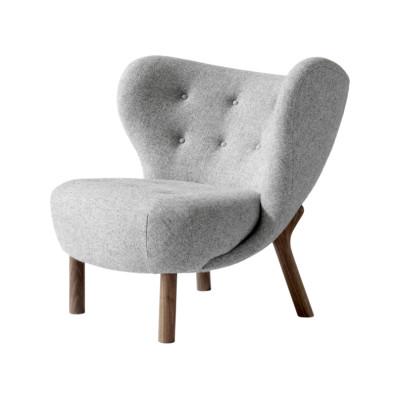 Little Petra VB1 Lounge Chair Oiled Solid walnut, Vidar 3 0123