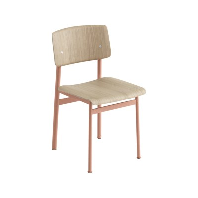 Loft Chair Dusty Rose/Oak