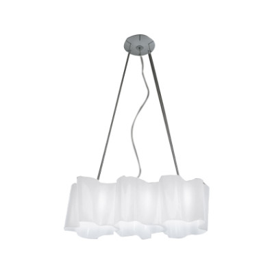 Logico Mini Pendant Light 3 in linea White