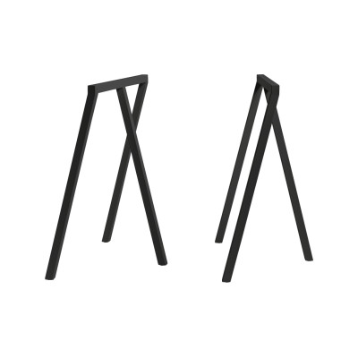 Loop Stand Frame - Set of 2 Black, Low