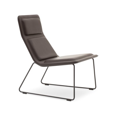 Low Pad Armchair Trame A210, 79cm