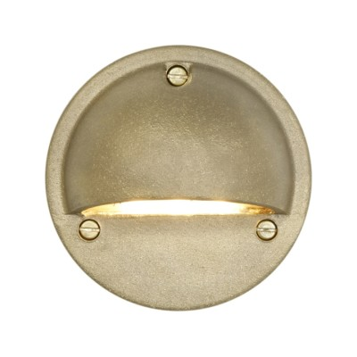 Low Voltage Step Light 7568 Brass