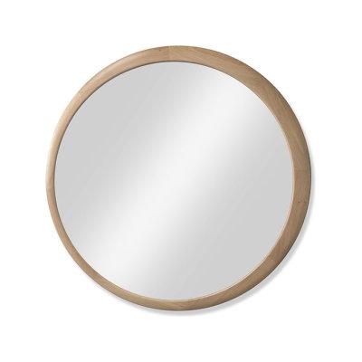 Luna Mirror Walnut Natural, 90