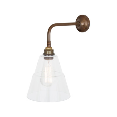 Lyx Wall Light Antique Brass