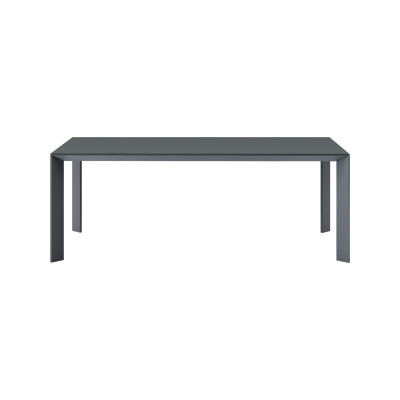 Mac Dining Table B42 Graphite-D87 Lava-100 x 300-No
