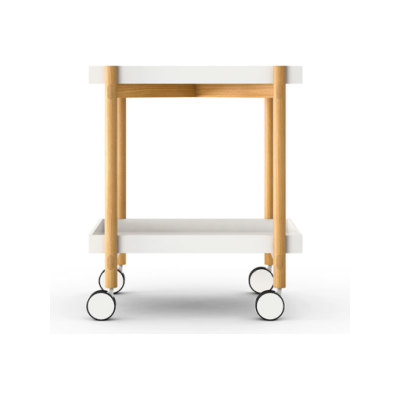 Mai Tai Trolley Anthracite Texturised Lacquered, Whitened Oak