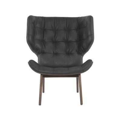 Mammoth Lounge Chair Oak Smoked , Dunes 21002 Rust
