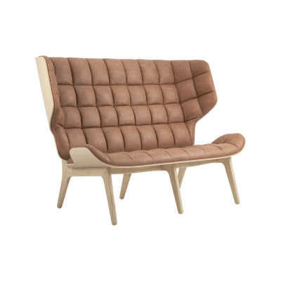 Mammoth Sofa Oak Smoked , Velvet Olive