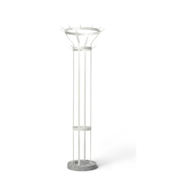 Marcel Coat Stand White - RAL 9003