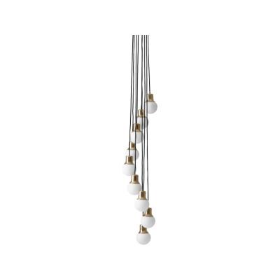 Mass NA6 Chandelier Brass